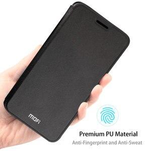 Image 5 - MOFi Redmi 注 7 Redmi 注 7 プロフリップケース xiaomi Redmi 注 7 PU 革透明 TPU 保護カパス