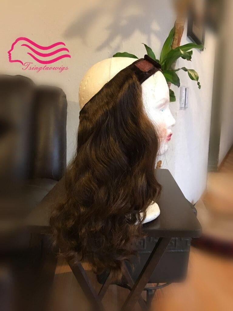 KOSHER Cappello di autunno da Tsingtaowigs, finest europea dei capelli del virgin, non trasformati capelli ebraica hatfall Best Sheitels trasporto libero