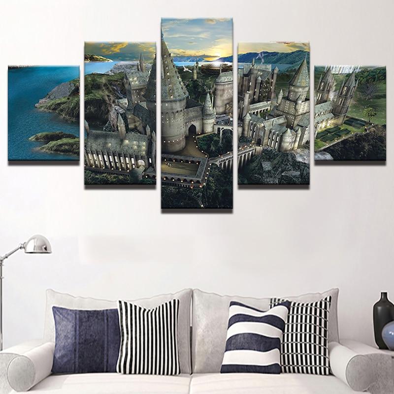 Moderne Wandkunst Bilder Wohnkultur Modulare Plakatrahmen 5 Stücke ...