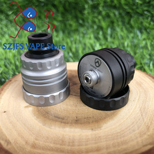 Armor S Styled RDA Rebuildable Dripping Atomizer with bf pin 22mm diameter 316 stainless steel 510 thred Top oiling diy edc Atty 2018 newest warhead rda atomizer 30mm diameter stainless steel brass copper with bf pin bottom refill rda atomizer vape tank