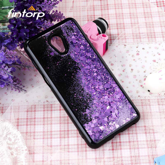 Black Liquid Quicksand Case For Meizu M3 M5 M6 Note Case Coque Bling Soft Silicone Back Cover For Meizu M6S M5S Covers Bumper
