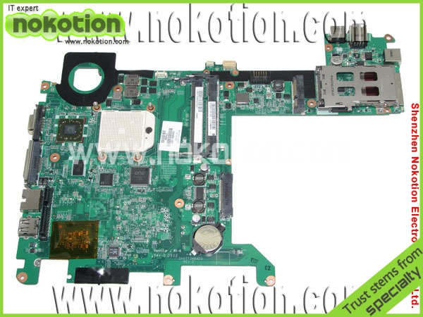 NOKOTION 504466-001 laptop motherboard for HP TX2  DA0TT3MB8D0 placa madre SOCKET S1  DDR2 100% tested warranty 60 days nokotion laptop motherboard for acer aspire 5551 nv53 mbbl002001 mb bl002 001 mainboard tarjeta madre la 5912p mother board