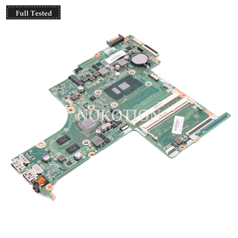 NOKOTION 830603-601 830603-001 DAX1BDMB6F0 for HP Pavilion 15T-AB100 15T-AB Laptop Motherboard SR2EZ i7-6500 940M 4GB GPU DDR3LNOKOTION 830603-601 830603-001 DAX1BDMB6F0 for HP Pavilion 15T-AB100 15T-AB Laptop Motherboard SR2EZ i7-6500 940M 4GB GPU DDR3L