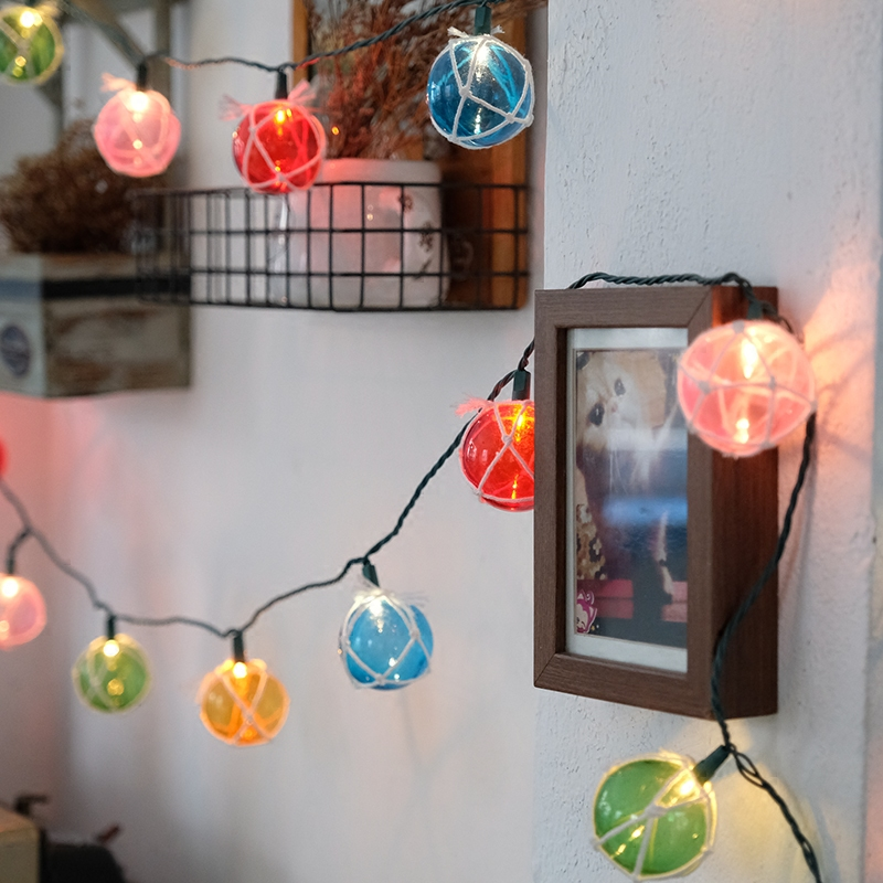 20Led 5cm Fairy Multicolor Winding Ball Battery Operated String <font><b>Light</b></font> LED Decoration For Christmas Garland New Year gerlyanda