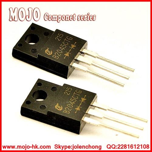 5pcs YG865C08R YG865C08 Schottky Barrier Diode TO-220F