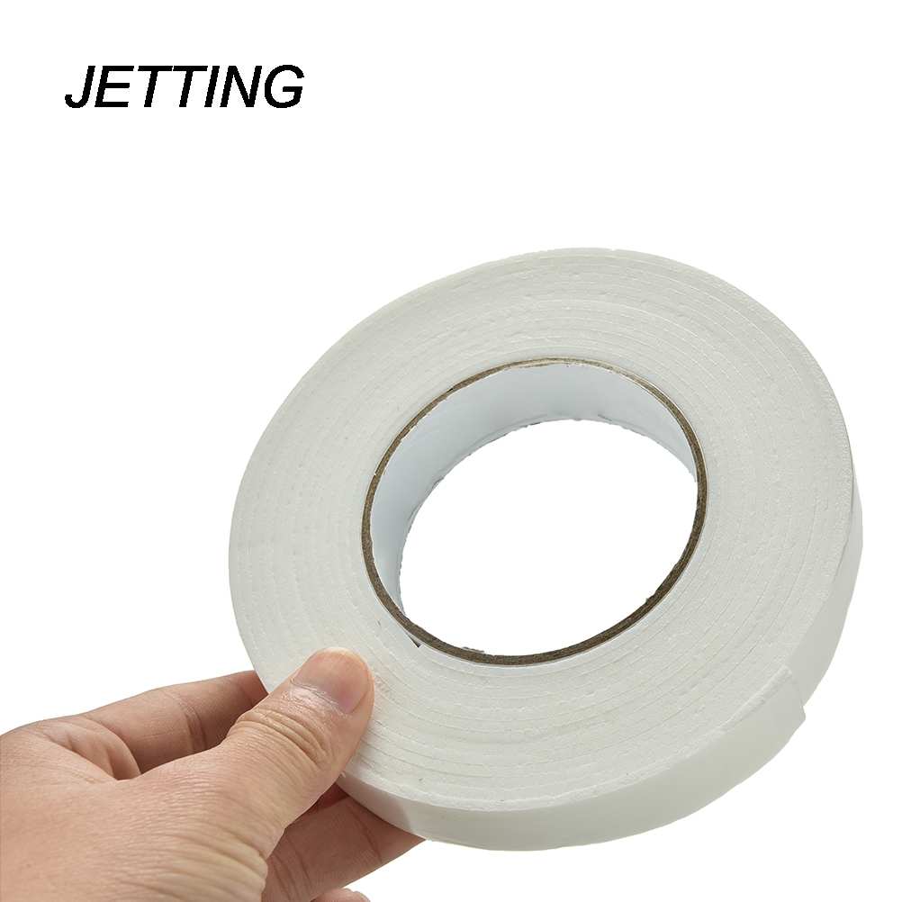 Double sided craft tape - Jetting 1pcs White White Strong Double Sided Sticky Tape Foam Double Faced Adhesive Craft Padded Mounting