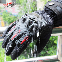 Riding Tribe Men S Touch Screen Gloves Motorcycle Full Finger Gloves Breathable Motor Motocross Protective Gear