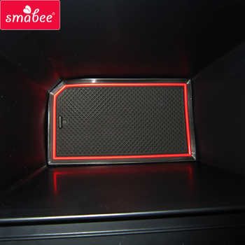 Tapis antidérapants de Latex de voiture de Smabee pour le tapis de fente de porte d'âme de KIA