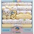 18 pcs set 100% algodão bebê recém-nascido roupas de inverno roupas de bebê boy girl newborn bodysuit roupas de bebê dom conjunto de roupas de bebe TZ34