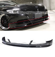 E89 Z4 3D Style Carbon Fiber Front Lip Bumper Splitter Spoiler Apron Lip fits 2009 2016 For BMW E89 Z4 Bumper Car Styling