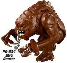 цены Dewback Jabba Rancor Wars Building Block Bricks Action Diy Collection Legoingly Best Baby Gift Toys