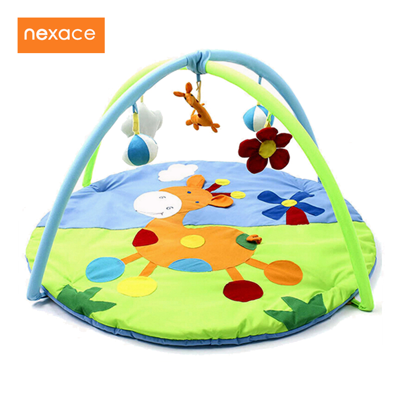 Baby Toys Gift Play Gym Mat Soft Infant Floor Carpet 3D Activity Play Mat