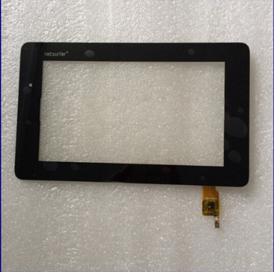 Free Shipping 7'' inch Black Touch Screen For Polaroid 070277-01A-V1 Glass Panel Digitizer 1 pcs for iphone 4s lcd display touch screen digitizer glass frame white black color free shipping free tools