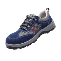 Men Steel Toe Work Safety Shoes Breathable Casual Spring Outdoor Boots Puncture Proof Footwear Antismash Antipuncture