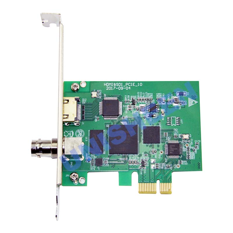 Карта видеозахвата PCIe 60FPS HDMI SDI видеозапись карта игра потоковая прямая трансляция 1080P VMix беспроводной OBS Xsplit - 3