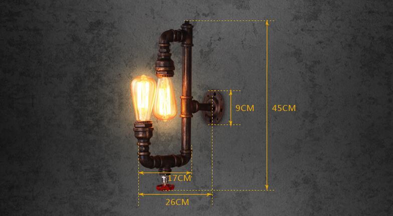 Nordic lampade da parete per balcone scale corridoio illuminazione
