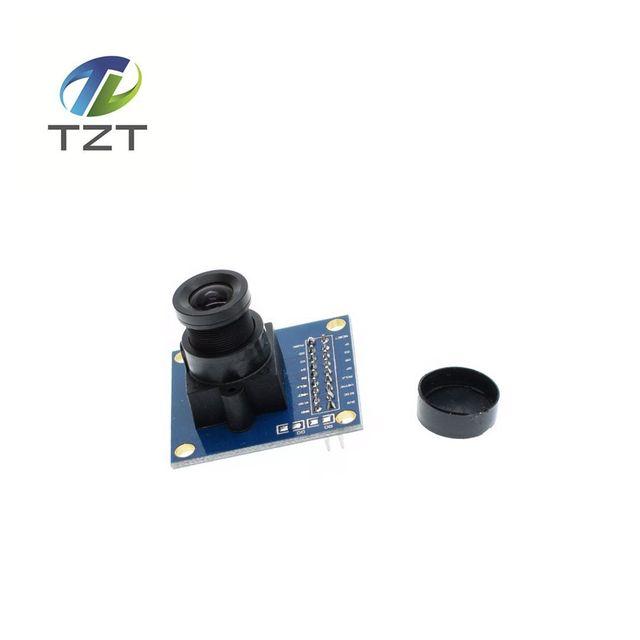 Guaranteed New 1Pcs Blue OV7670 300KP VGA Camera Module for Arduino Free Shipping