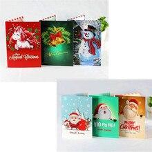 Christmas card diamond painting greeting 5D creative DIY birthday 18x13