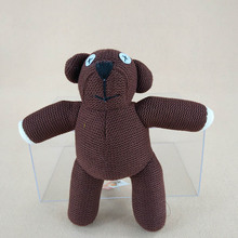 23cm Kawaii Mr Bean Brown Teddy Bear With Tag Plush Soft Stuffed Anmals Doll Toys For Kids Gifts