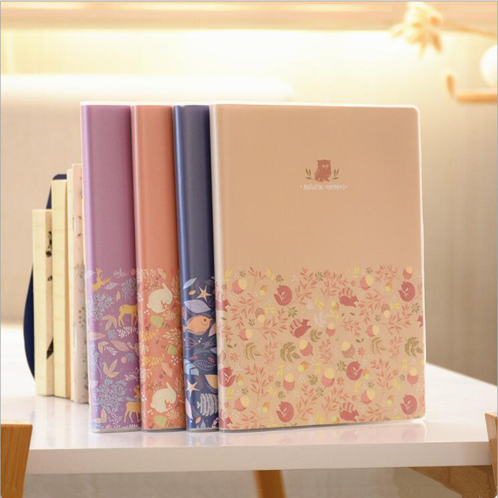 Waterproof Rubber Jacket Common Line Notebook B5 Office School Schedule Stationery Planner Organizer Daily Memos Journals Diary