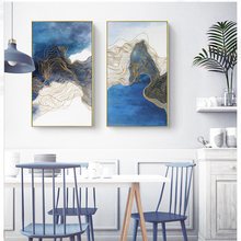 Nordic Poster Spray Wall Art Canvas Painting Abstract Picture Posters And Prints  Pictures For Living Room Unframed