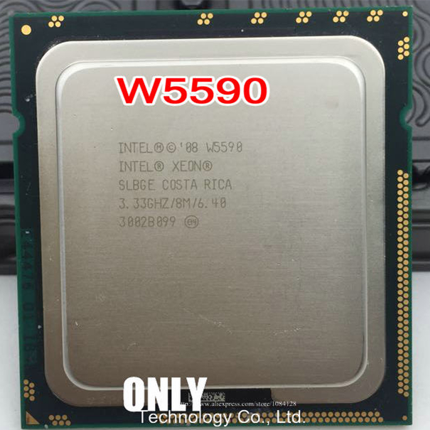 Original Intel Xeon W3680 CPU Processor //3.3GHz //LGA1366//12MB L3 Cache//Six-Core//Server CPU W 3680 W3690 X5680 I7 980