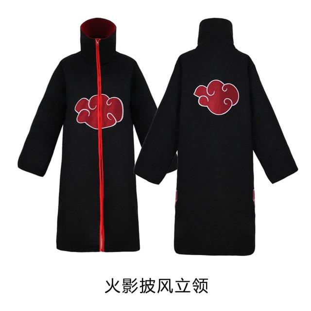 Image 2 - men/women wholesale naruto costume sasuke uchiha cosplay itachi clothing hot anime akatsuki cloak cosplay costume size s 2xl-in Anime Costumes from Novelty & Special Use