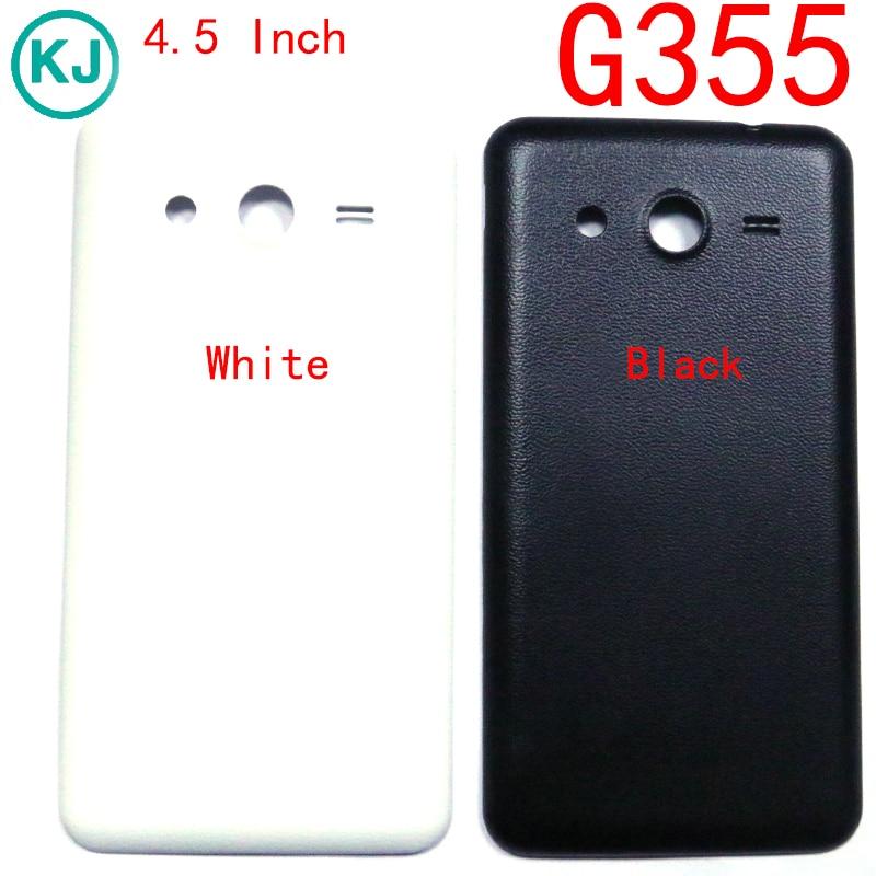bd7c32ef765 Trasera G355 batería contraportada vivienda para Samsung Galaxy Core 2 G355H  caja de batería de la puerta posterior en Teléfono Móvil carcasas de  Teléfonos ...