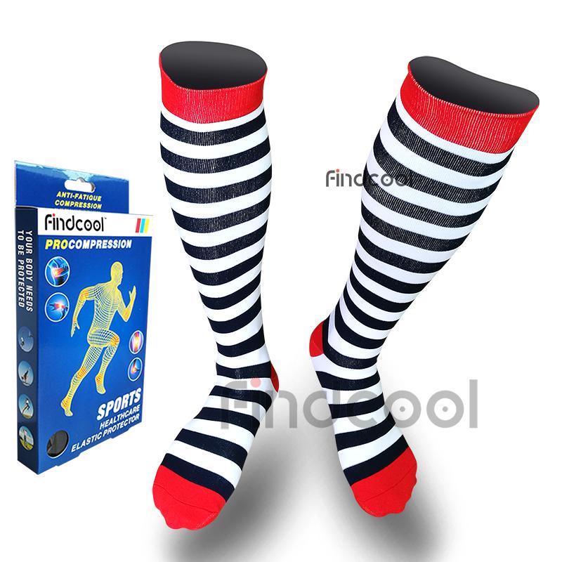 980bbe8c4a 2019 Yisheng Knee High Compression Socks For Men Women Quick Dry Leg ...