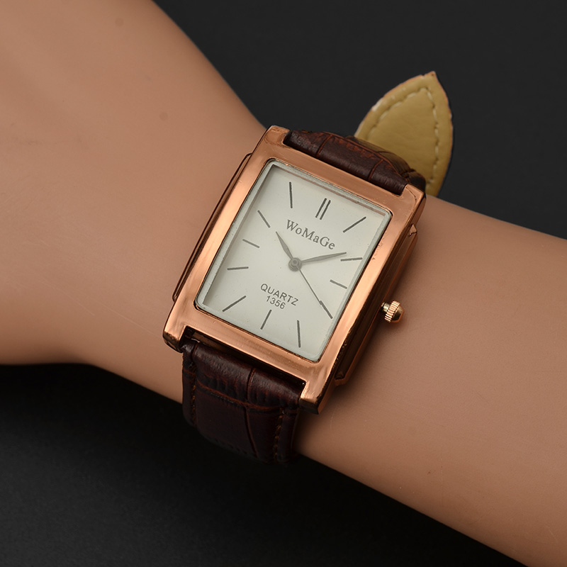 WoMaGe Fashion Rose Gold Watch Women Watches Top Brand Women's Watches Ladies Watch Clock saat relogio feminino montre femme junior republic 021