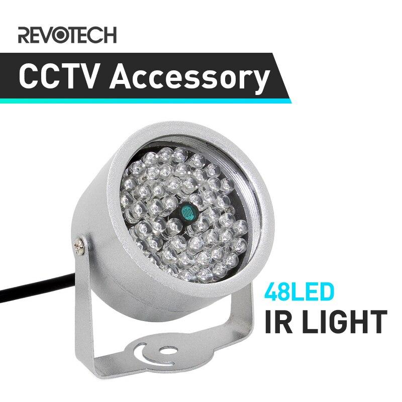 Водонепроницаемая ИК светильник КА для камеры видеонаблюдения с ночным видением, 48 Светодиодный