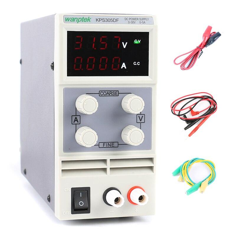 KPS 305DF Four display laboratory power supply adiustable mini Switching power supply uninterruptible 30V 5A 0