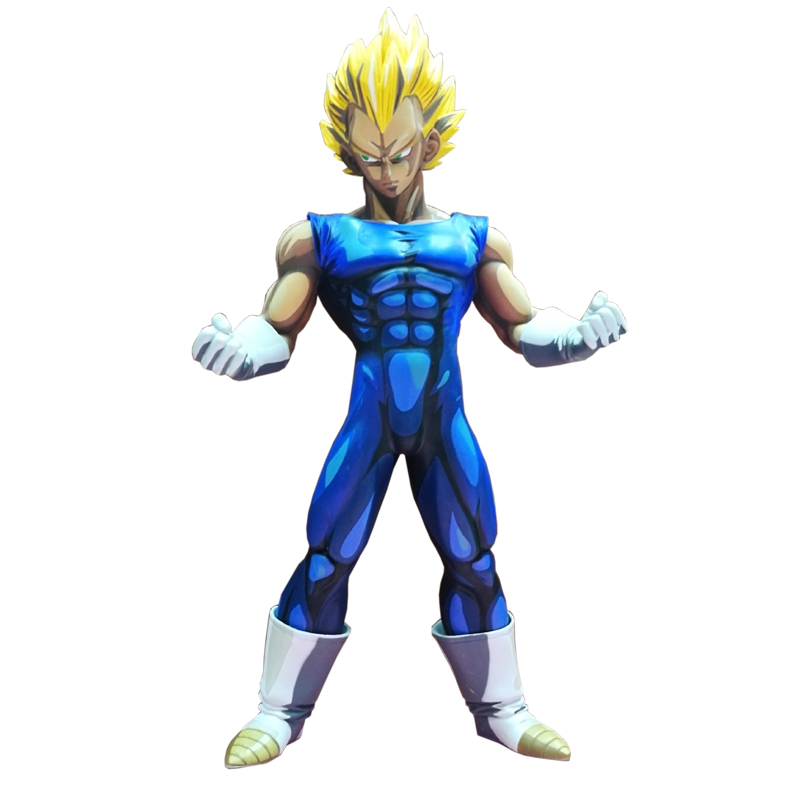 2017 Hot Special Japanese Anime Color 26CM Dragon Ball Z Super Saiyan Vegeta PVC Action Figure Collection Model Toy Gifts WX131