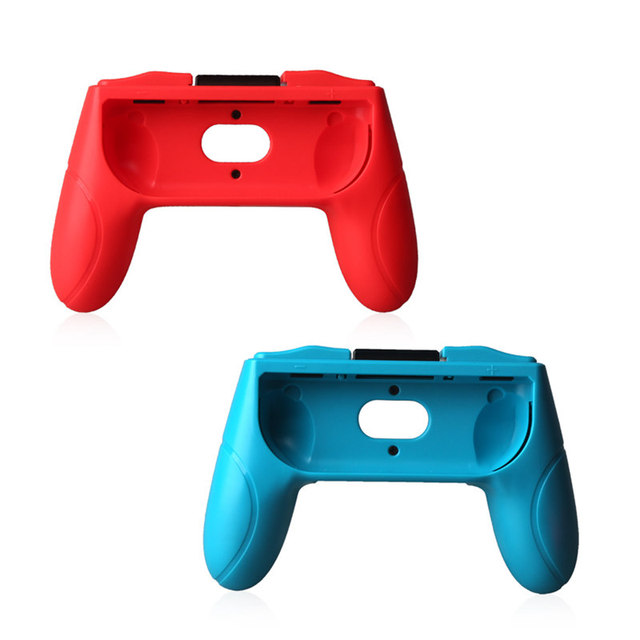 ViGRAND  2pcs left and right Hand Grip Stand Holder for Nintend Switch Controller gamepad