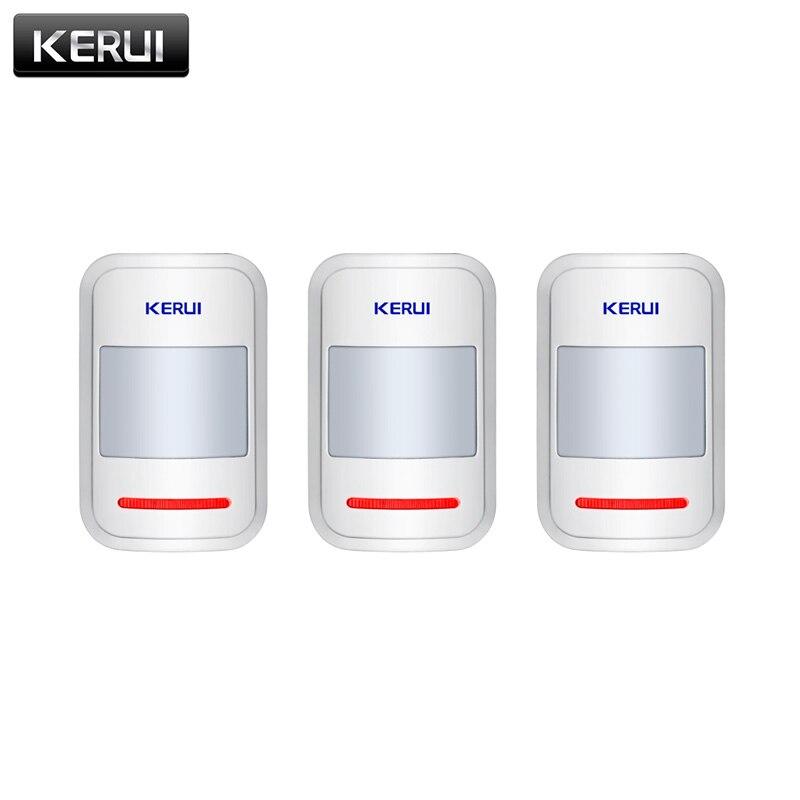 3 pcs/lots 433 mhz Sans Fil PIR Détecteur de Mouvement Capteur Pour KERUI GSM PSTN Home Security Système D'alarme Antivol Accueil Protection