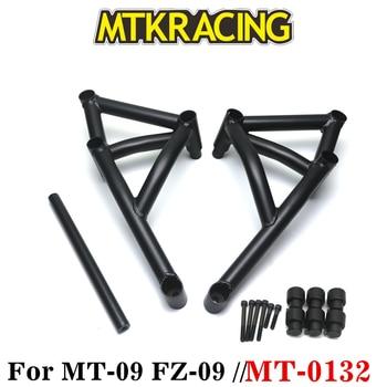 MTKRACING Stunt Cage Engine Guard Crash bar for Yamaha MT FZ 09 Tracer MT-09 FZ-09 Motorcycle Crash Bar Engine Guard Frame  crash bar mt 09