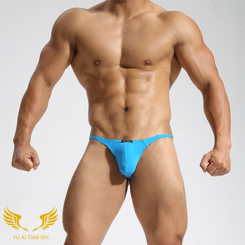 Muscle men in thong agree