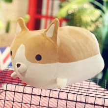 Cartoon Cute Corgi Plush Toy Animal Dog Corgi Soft Stuffed Plush Doll Pillow Best Gift For Children Kid Birthday(China)