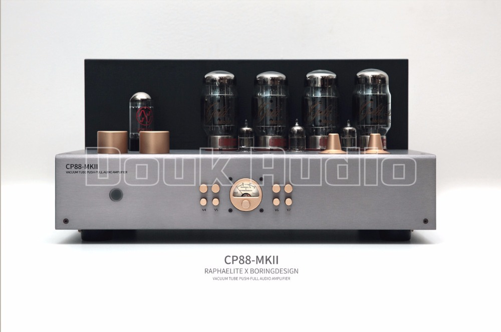 2018 Latest Nobsound Hi-end GOLD LION KT88 Vacuum Push-Pull Tube Integrated Amplifier Audio Stereo HiFi Amp 60W*2 music hall latest muzishare x7 push pull stereo kt88 valve tube integrated amplifier phono preamp 45w 2 power amp