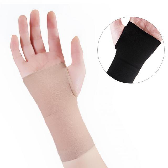 Фиксатор запястья перчатки тяжелая атлетика защиты ладони эластичный Brace спортивные фитнес рука Защитный Браслет перчатки
