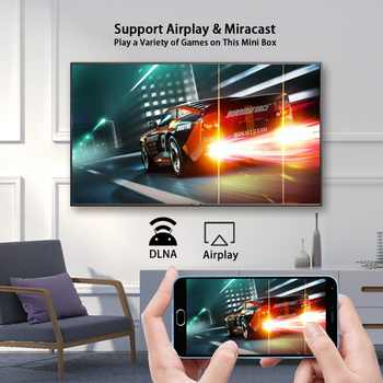 A95X F2 Android 9 0 TV BOX Amlogic S905X2 Set-top Box 2 4&5G Dual