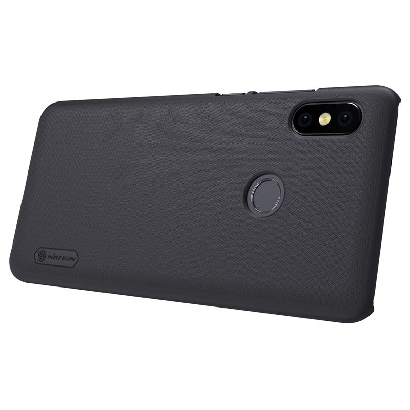 Para xiaomi redmi note 5 pro case capa NILLKIN Fosco PC rígido capa caso redmi note 5 prime caso Suporte Do Telefone Presente 5.99''
