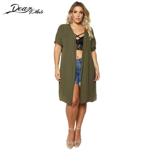 5d7516ed6d6 Women Autumn Cardigan Long Sleeve Long Cardigans Female Grey Plus Size  Sweater Loose Ladies Open Stitch