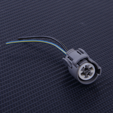 DWCX IAT Intake Air Fan Knock Coolant Temperature Sensor Connector Plug Pigtail Fit for Honda Civic B D H F Engines