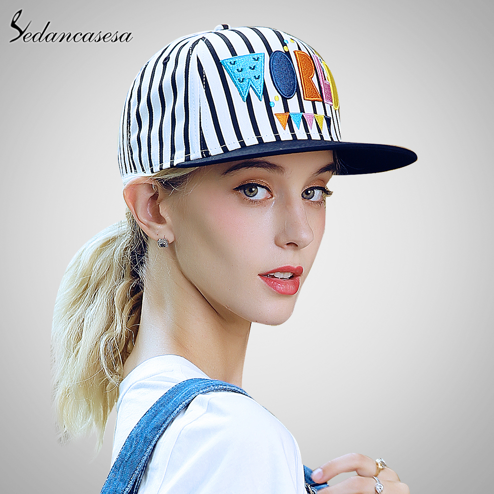 Vintage Unisex Baseball Cap Sun UV Protection Snapback Hats For Women Men Baseball Caps Adjustable World