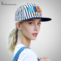 Vintage Unisex Baseball Cap Sun UV Protection Snapback Hats For Women Men Baseball Caps Adjustable World