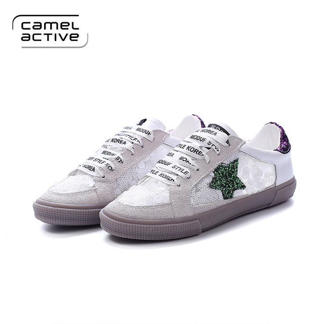 Online Shop Camel Active Designer Brand Vintage Women's Flats Casual Shoes  Fashion Handmade (PU Leather + Mesh) White Breathable Girl Shoes |  Aliexpress ...