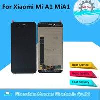 Original M SenFor Xiaomi Mi A1 MiA1 LCD Screen Display Touch Screen Digitizer White Black Free