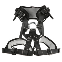 Outdoor Professional rock climbing mountaineering belt downhill rappel safety belt climbing Hunting equipment Rescue Tool professional full body 5 point safety harness seat sitting bust belt rock climbing rescue fall arrest protection gear equipment
