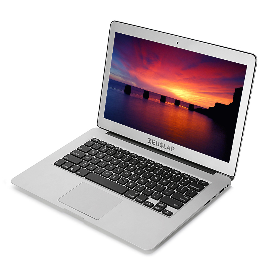 ZEUSLAP 13.3 inch Intel i5 CPU 4GB RAM 256GB SSD 1920x1080FHD Windows 10 System Fast Boot Ultrathin Laptop Notebook Computer ru stock zeuslap 8gb ram 120gb ssd 500gb hdd windows 10 ultrathin quad core fast boot notebook computer laptop